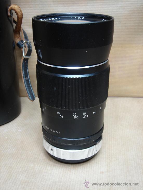 Cámara de fotos: OBJETIVO ROSCA - MAREXAR 200 MM AUTO-TELE 1:3.5 + FUNDA ¡¡¡ LENS JAPAN ¡¡¡ - Foto 3 - 28423869