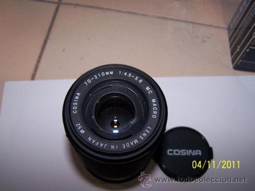Cámara de fotos: COSINA 70-210M 1:4.5-5.6 MC MACRO LENS 52 - Foto 4 - 28859511