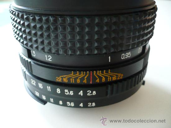 KIEV KALEINAR LENTE OBJETIVO 2.8 / 100 MULTICAPA BAYONETA NIKON -A ESTRENAR- DE MAQUINARIA LEICA (Cámaras Fotográficas Antiguas - Objetivos y Complementos )