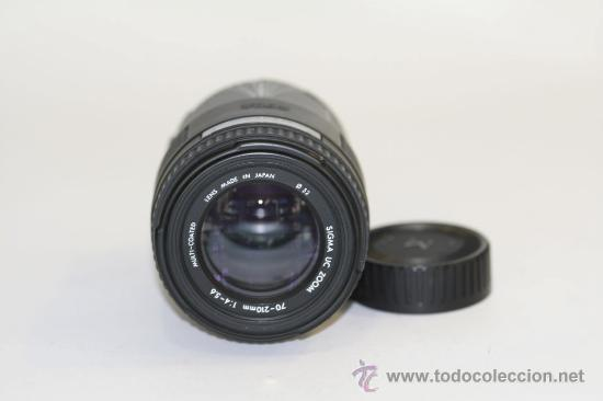 SIGMA UC 70-210MM MONTURA NIKON AF (Cámaras Fotográficas Antiguas - Objetivos y Complementos )
