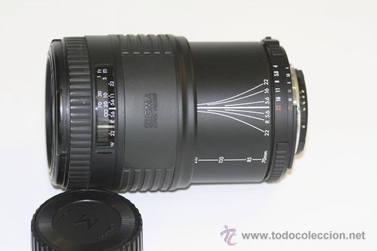 Cámara de fotos: Sigma UC 70-210mm montura Nikon AF - Foto 2 - 29292396