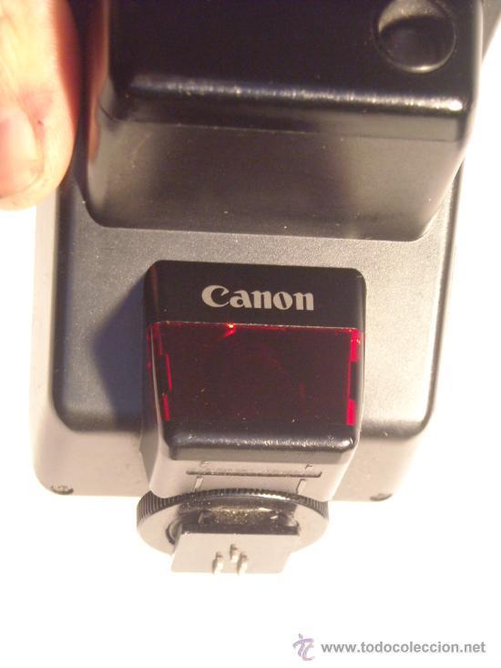 Cámara de fotos: Flash Canon Speedlite 300EZ con su funda origen, funcionando. - Foto 2 - 29341551