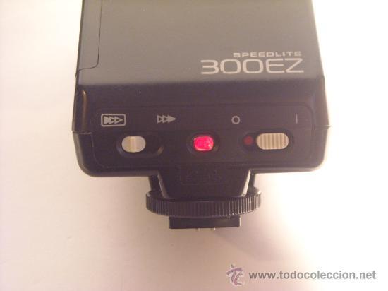 Cámara de fotos: Flash Canon Speedlite 300EZ con su funda origen, funcionando. - Foto 4 - 29341551