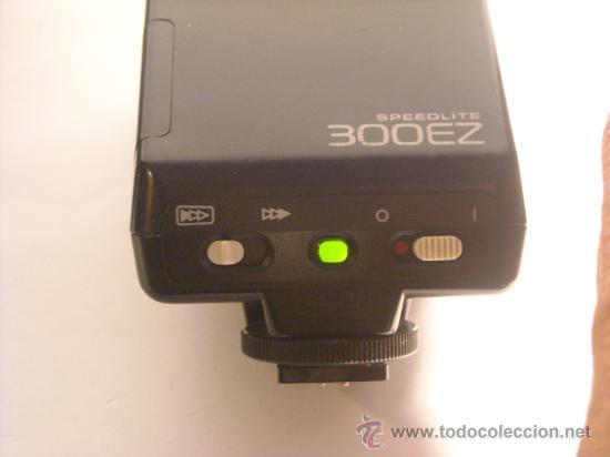 Cámara de fotos: Flash Canon Speedlite 300EZ con su funda origen, funcionando. - Foto 3 - 29341551