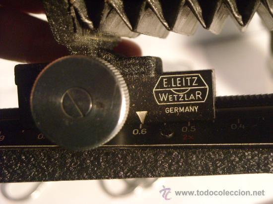 Cámara de fotos: leitz focaslide OOZAB y fuelle UXOOR elmar hektor para leica I II III lsm ltm m39 Años 50 perfectos - Foto 8 - 29327363