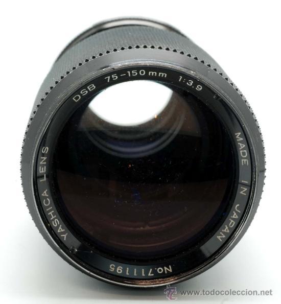 Cámara de fotos: Objetivo Yashica Lens DSB 75 150 Mm 1:3.9 - Foto 3 - 29393944