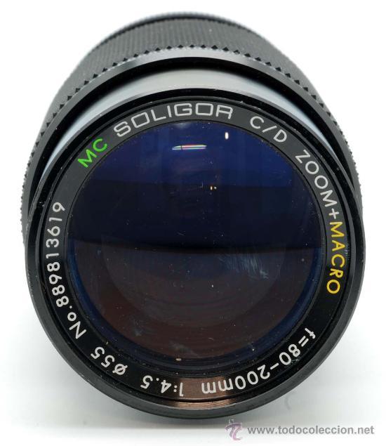 Cámara de fotos: Objetivo MC Soligor Zoom Macro F 80 200 Mm 1:4,5 - Foto 4 - 29398678