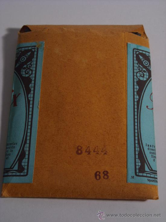 Cámara de fotos: Antigua caja de papel fotografico, 20 hojas Cellofix Kraft Dresden 6,5x9cm - Foto 2 - 218547725