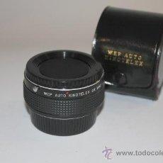 Cámara de fotos: WEP AUTO KINOTELEX 2X MONTURA YASHICA/CONTAX. Lote 30256129