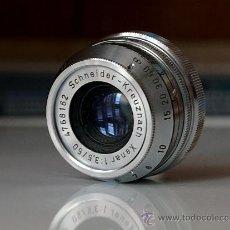 Cámara de fotos: OBJETIVO CROMO XENAR 50 MM./3.5 PARA ANTIGUA CÁMARA AKARELLE. Lote 30509995