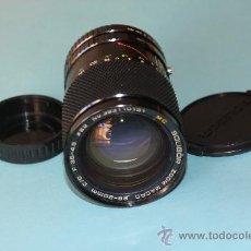 Cámara de fotos: OBJETIVO ZOOM PARA PENTAX - MARCA SOLIGOR, 28-80 MM./ 3,5-4,5 Y MACRO-- PK. Lote 30712114