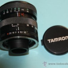 Cámara de fotos: OBJETIVO ZOOM TAMRON 28-70 MM./ 3,5-4,5 Y MACRO. Lote 30845643