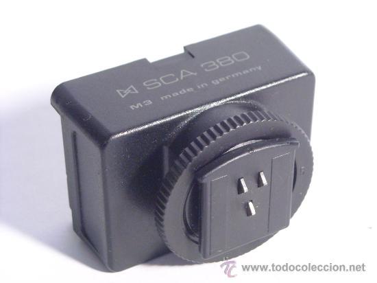 Cámara de fotos: Adaptador Metz para flash Sca 380 para yashica y contax - Foto 2 - 30985695