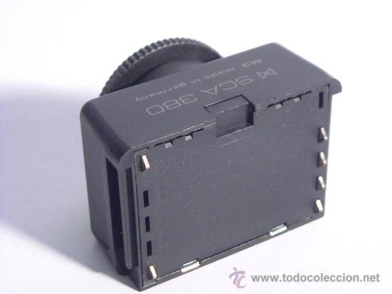 Cámara de fotos: Adaptador Metz para flash Sca 380 para yashica y contax - Foto 3 - 30985695