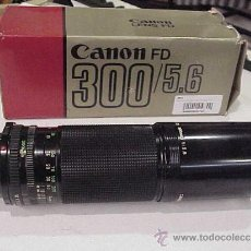 Cámara de fotos: CANON FD 300 F/5,6.EN ESTADO NUEVO.. Lote 31016158