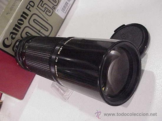 Cámara de fotos: canon fd 300 f/5,6.en estado nuevo. - Foto 2 - 31016158