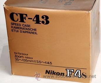 Cámara de fotos: NIKON CF-43 - FUNDA DE PIEL PARA F4S CON OBJETIVO ZOOM- ¡SOBERBIA¡ - Foto 5 - 89656178