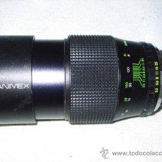 Cámara de fotos: OBJETIVO HANIMEX AUTOMATIC F= 200 M,M 67 O - PARA CAMARA REFLEX. Lote 31192776