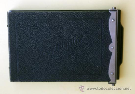 Cámara de fotos: Porta placas Voigtlander 8,5 X 11,5 cm - Foto 4 - 31202719