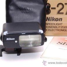 Cámara de fotos: NIKON SB-27. Lote 31333882