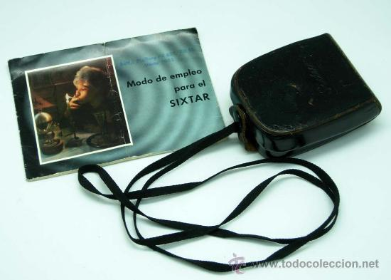 Cámara de fotos: Fotómetro Sixtar con instrucciones y funda Made in West Germany no funciona - Foto 2 - 31456689