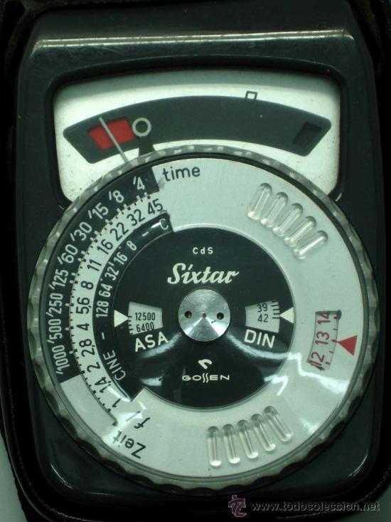 Cámara de fotos: Fotómetro Sixtar con instrucciones y funda Made in West Germany no funciona - Foto 3 - 31456689
