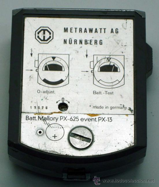 Cámara de fotos: Fotómetro Metrastar Metrawatt AG Nürnberg Germany no funciona - Foto 4 - 31456995