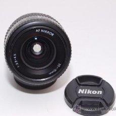 Cámara de fotos: NIKON AF NIKKOR 35-70MM 1:3.3-4.5. Lote 31576532