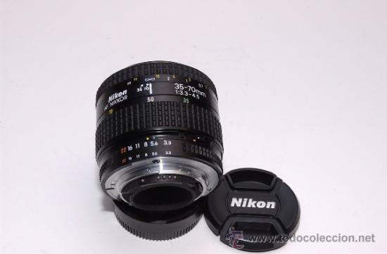 Cámara de fotos: Nikon AF Nikkor 35-70mm 1:3.3-4.5 - Foto 2 - 31576532