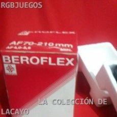 Cámara de fotos: OBJETIVO BEROFLEX AF 70-210MM AF 4,0 - 5,6 PARA MINOLTA. Lote 31923925