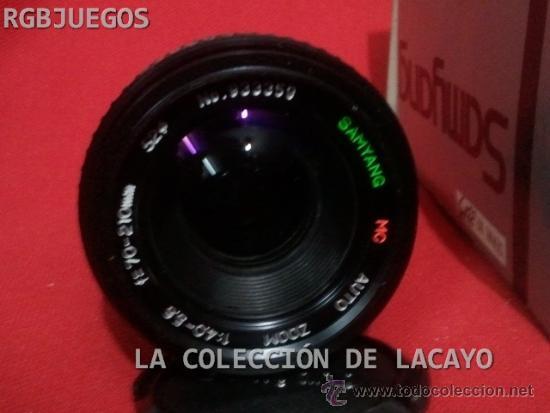 Cámara de fotos: OBJETIVO SAMYANG 70 - 210 mm f.4.0 - 5.6 ZOM PARA YASHICA - Foto 2 - 31923996