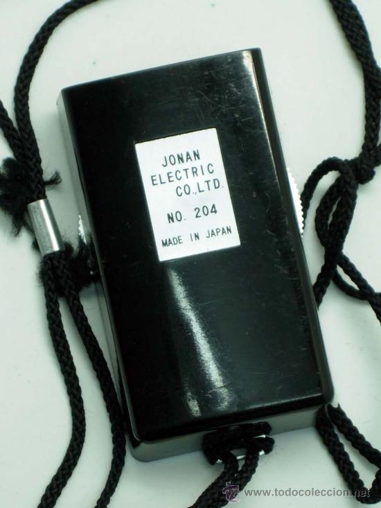 Cámara de fotos: Fotómetro Jonan Electric Mini Made in Japan funciona - Foto 3 - 32130103