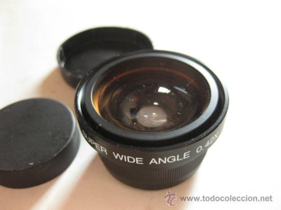 Cámara de fotos: OBJETIVO GRAN ANGULAR DE MARCA DESCONOCIDA - SUPER WIDE ANGLE 0.42X JAPAN - Foto 3 - 32350153
