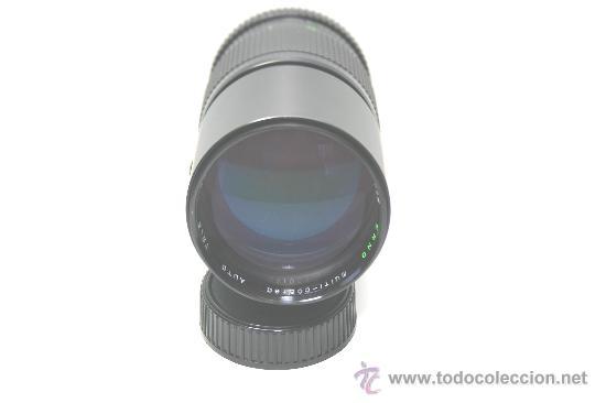 Cámara de fotos: TELE OBJETIVO 200mm tipo pentax K ERNO made in japan con funda de piel - Foto 3 - 32350758