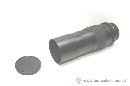 Cámara de fotos: TELE OBJETIVO 200mm tipo pentax K ERNO made in japan con funda de piel - Foto 4 - 32350758