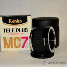 Cámara de fotos: KENKO 2X OP TELEPLUS MC 7 MONTURA OLYMPUS. Lote 32858164