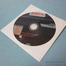 Cámara de fotos: CD-ROM CANON EOS 40D ORIGINAL. Lote 34232482
