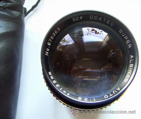 Cámara de fotos: Objetivo Super Albinar 135mm f 2.8 - Foto 2 - 34388846