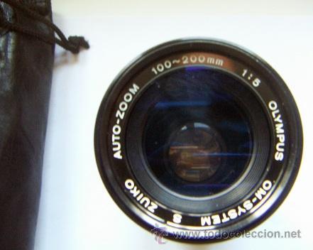 Cámara de fotos: Auto zoom Olympus OM System Zuiko 100,200mm 1:5 - Foto 2 - 34388908