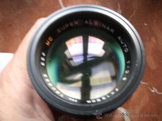 Cámara de fotos: Super Albinar 135mm f2.8 de bayoneta pero desconozco montura. - Foto 6 - 35447811