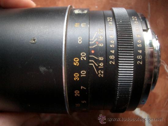 Cámara de fotos: Super Albinar 135mm f2.8 de bayoneta pero desconozco montura. - Foto 4 - 35447811