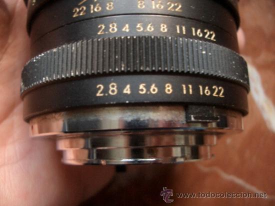 Cámara de fotos: Super Albinar 135mm f2.8 de bayoneta pero desconozco montura. - Foto 2 - 35447811
