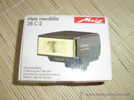 FLASH METZ MECABLITZ 28 C-2 (Cámaras Fotográficas Antiguas - Objetivos y Complementos )