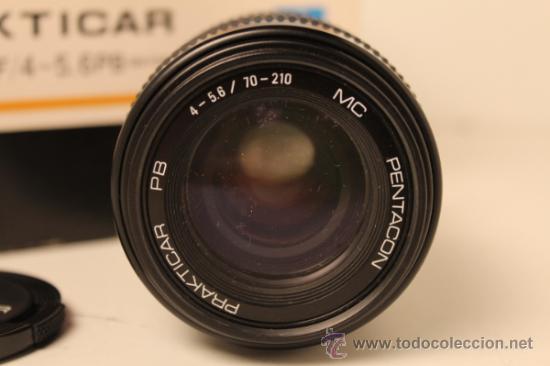 Cámara de fotos: OBJETIVO ZOOM PENTACON PRAKTICAR 70-210mm f4/5'6 PB DE BAYONETA ADAPTABLE A CANON - Foto 4 - 35587638
