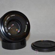 Cámara de fotos: MINOLTA 50MM 1,7 MD. Lote 35691497