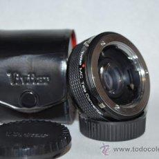 Cámara de fotos: VIVITAR TELE CONVERTER 2X-5 MONTURA MINOLTA MD. Lote 35697933