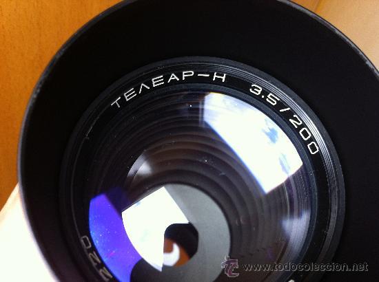 OBJETIVO KIEV TELEAR-N 3.5/200 PARA NIKON F (Cámaras Fotográficas Antiguas - Objetivos y Complementos )