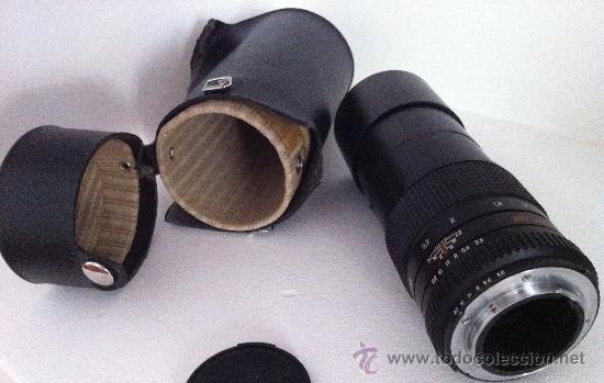 Cámara de fotos: OBJETIVO KIEV TELEAR-N 3.5/200 para NIKON F - Foto 5 - 36614410