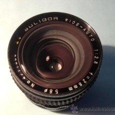 Cámara de fotos: OBJETIVO SOLIGOR, WIDE-AUTO, 1:2,8, 28 MM, 58 DE DIAMETRO. Lote 37846574