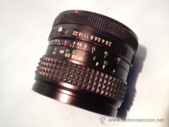 Cámara de fotos: OBJETIVO SOLIGOR, WIDE-AUTO, 1:2,8, 28 mm, 58 de diametro - Foto 3 - 37846574